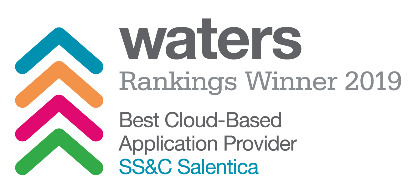 Waters Award - Best Cloud-Based Application